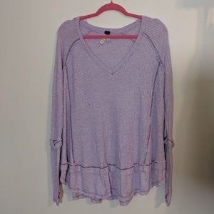NWOT Free People Thermal Tunic